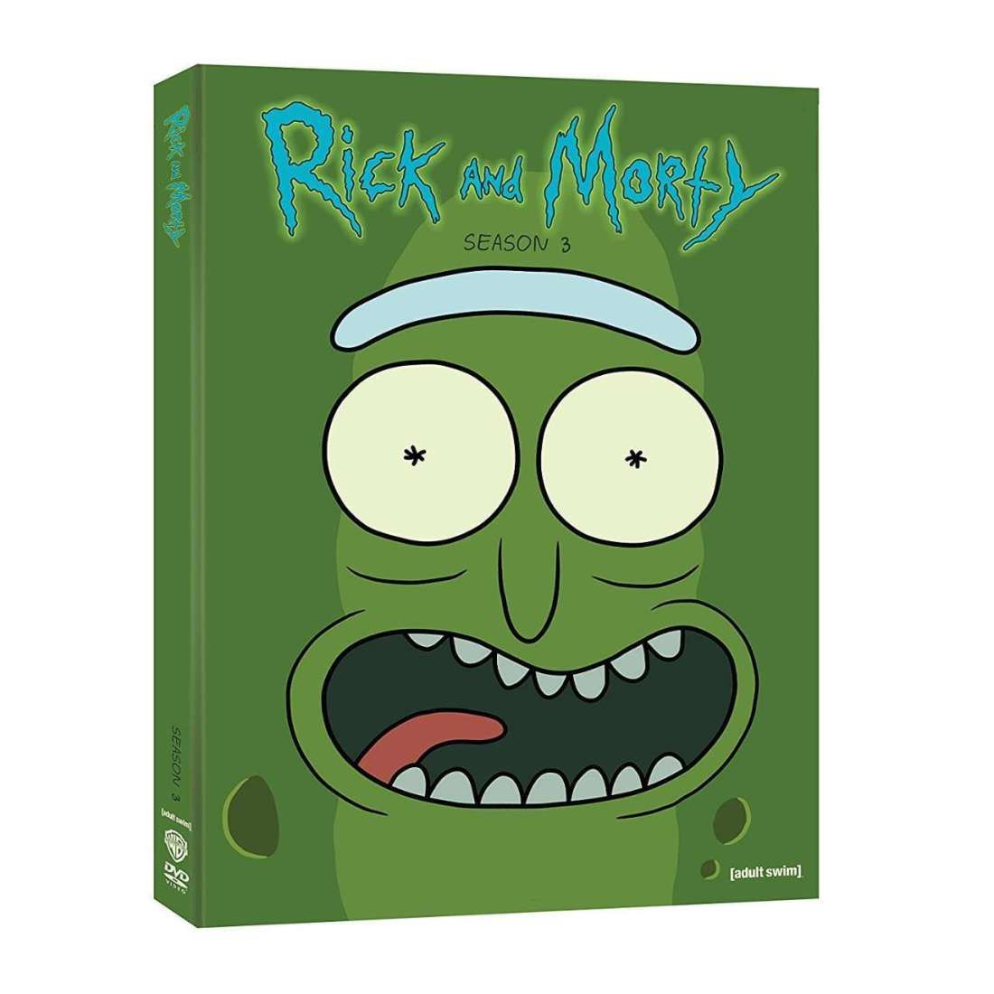 Rick and Morty DVD Season 3 Cover