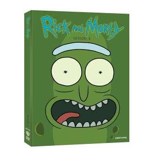 Rick and Morty DVD Season 3 Cover